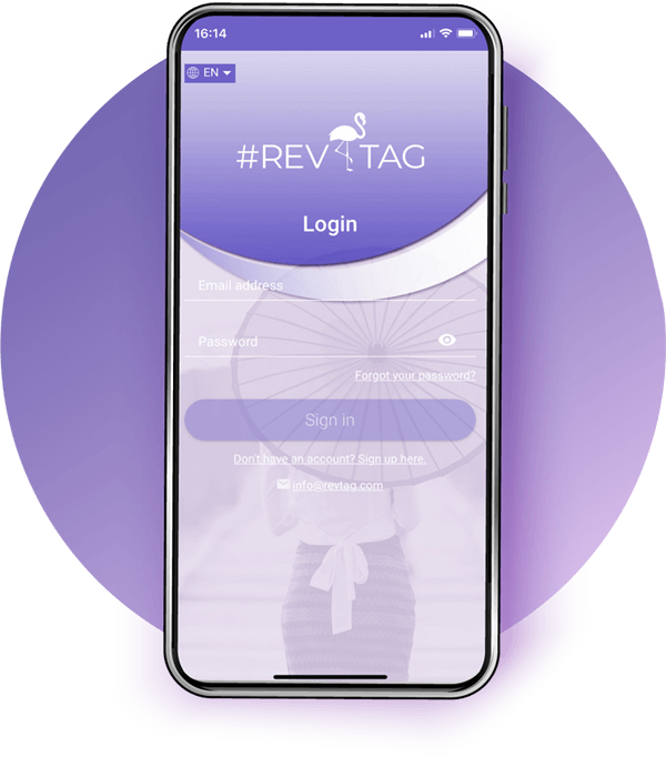 RevTag App Mob Contacts